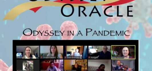 "Cover of ""Odyssey Oracle,"" April 15, 2020"