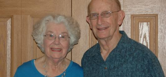 Shirley and Stan Inhorn, 2013