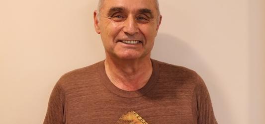 Photograph of Jim Sturm