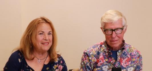 Photograph of Donovan and Ellen Ljung