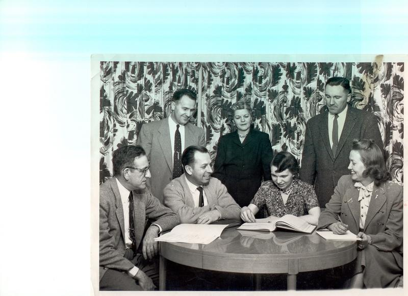Westmorland Neighborhood Association Board, 1958