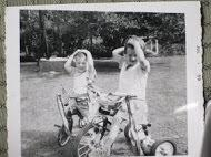 Murphy children in 4th of July parade, 1959