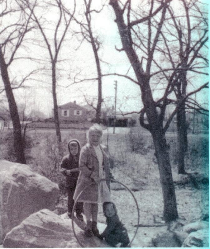 Saeman children, Paul, Marian, Ann, ca. 1959