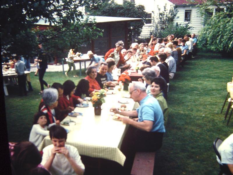 Clifden Drive block party, ca. 1966