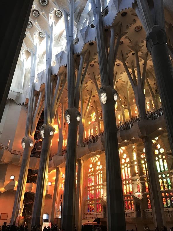 Basílica de la Sagrada Família, Spain, 2020