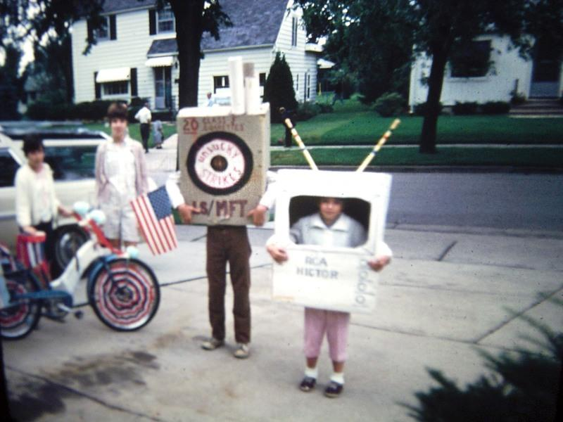 Preparing for 4th of July parade, ca. 1965