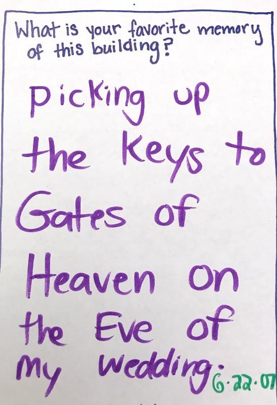 Memory of Gates of Heaven keys, Municipal Restored, 2018