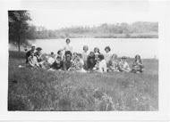 Girl Scout troop, 1963