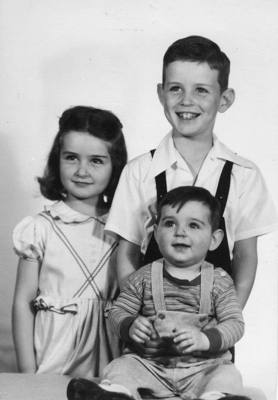 McDowell children, ca. 1948