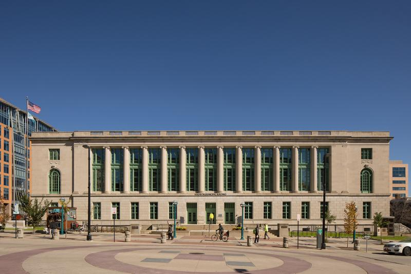 Photograph of Madison Municipal Building, 2018