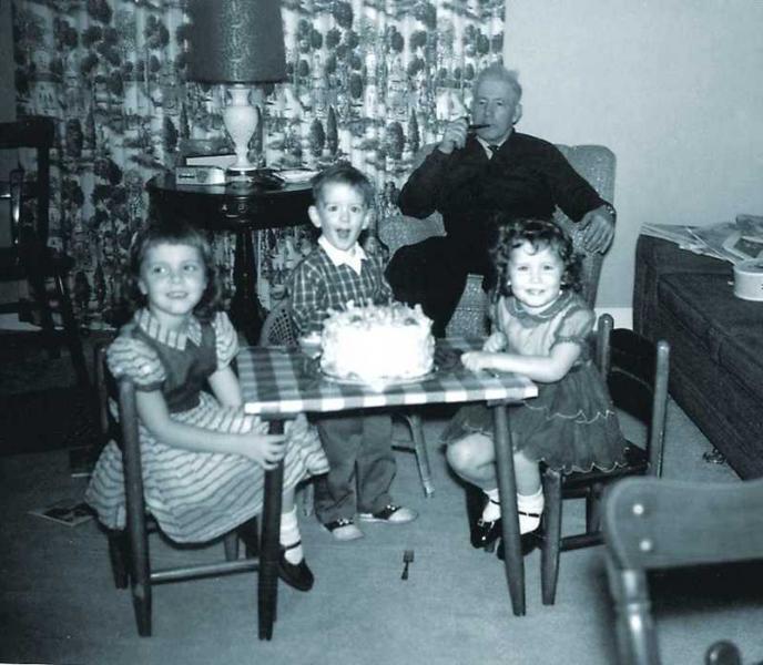 John Schultz birthday party, 1961