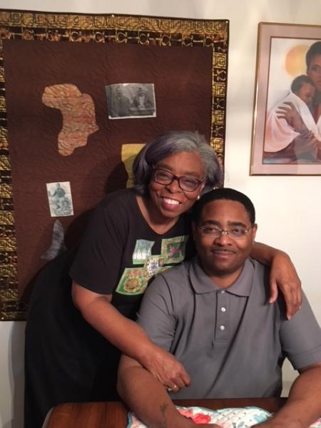 Photo of Edith Hilliard and Nimrod Hilliard III