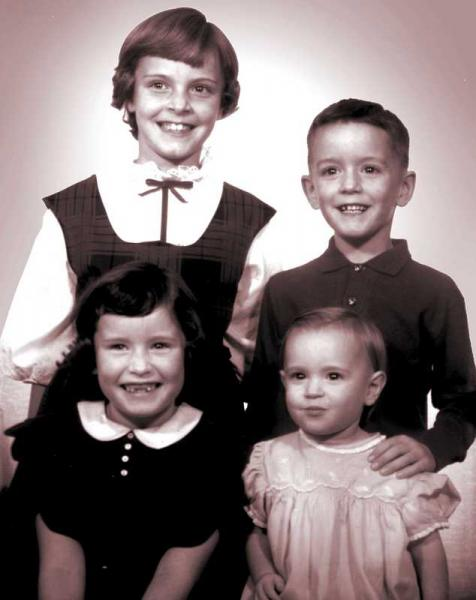 Schultz children, ca. 1962
