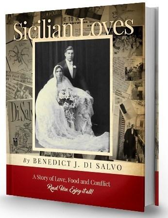Book cover of Sicilian Loves: A love story of food and family