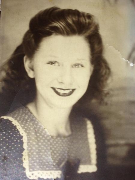 Mary Miller, age 20, 1944