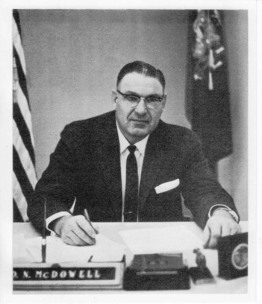 Donald N. McDowell, Wisconsin State Secretary of Agriculture