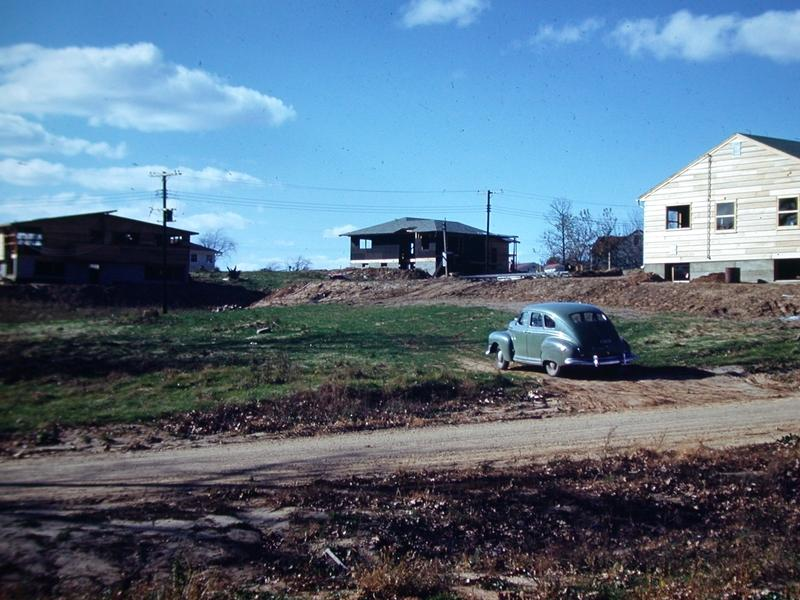 Vacant lot at 564 Gately Terrace, 1949